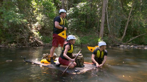 I'm A Celebrity Viewers Baffled When Campmates Emerge From Water Challenge Bone Dry
