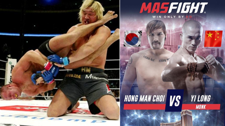 7-Foot-2 Super Heavyweight To Fight 5-Foot-10 Welterweight Monk In 'Knockout Only' Fight