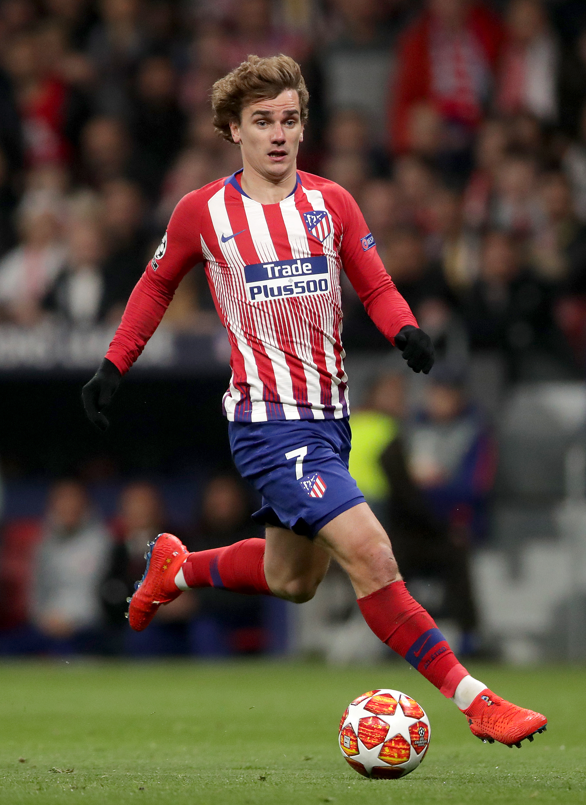 Antoine Griezmann in action (Image Credit: PA)