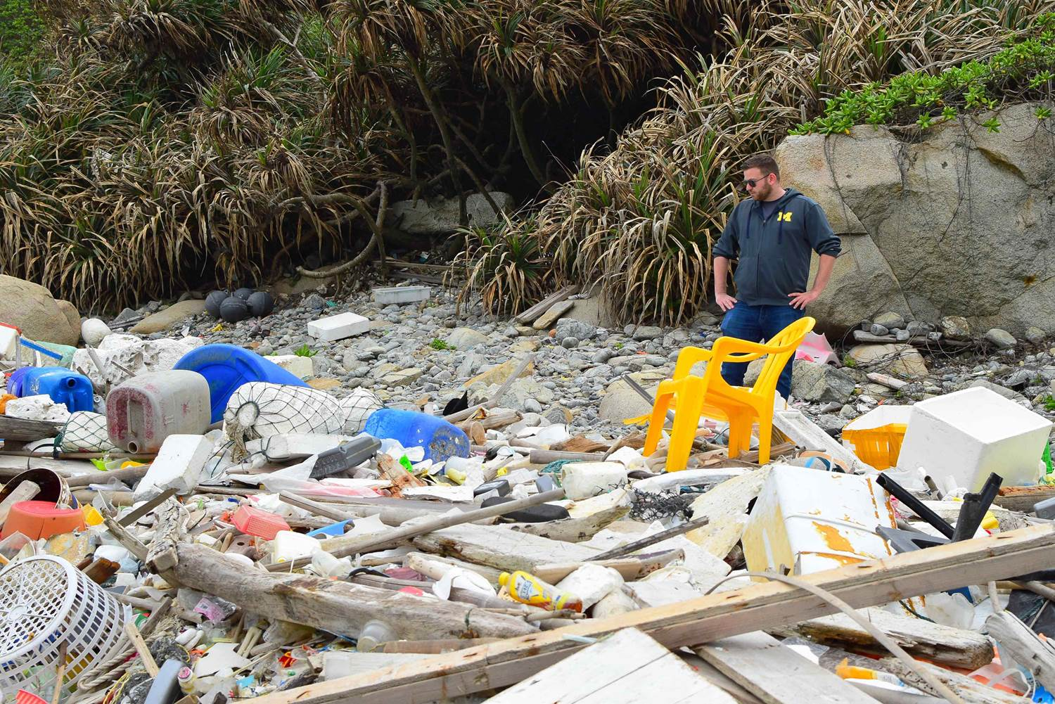 the pollution caused by plastic Plastic pollution is a global problem the majority of plastic winds up in landfills where it remains indefinitely no one exactly knows how long plastic takes to break down, but it is believed to take hundreds or even thousands of years.