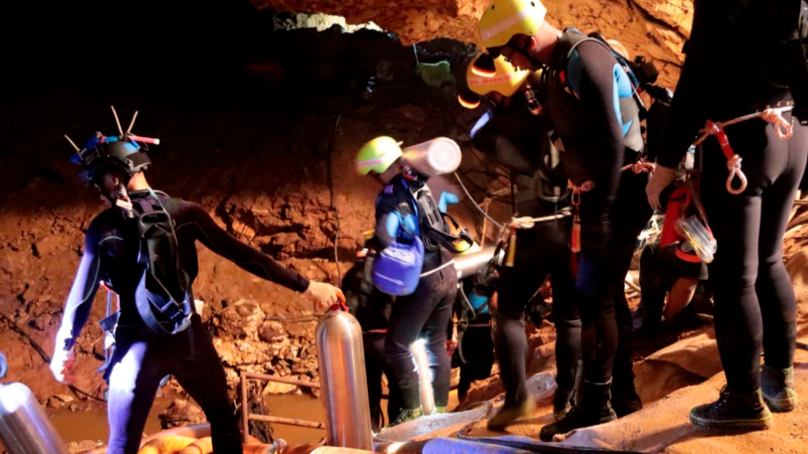 Mission To Rescue Eight Remaining Thai Boys Trapped In Cave Resumes