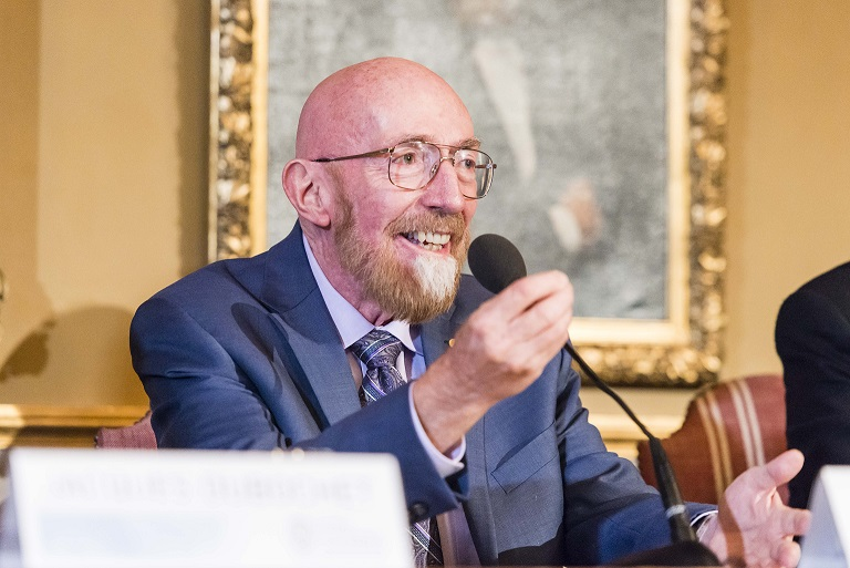 Kip Thorne. Credit: PA