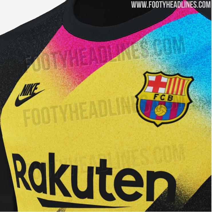 Barcelona's 2019/20 Third Goalkeeper Kit Is Sure To Split