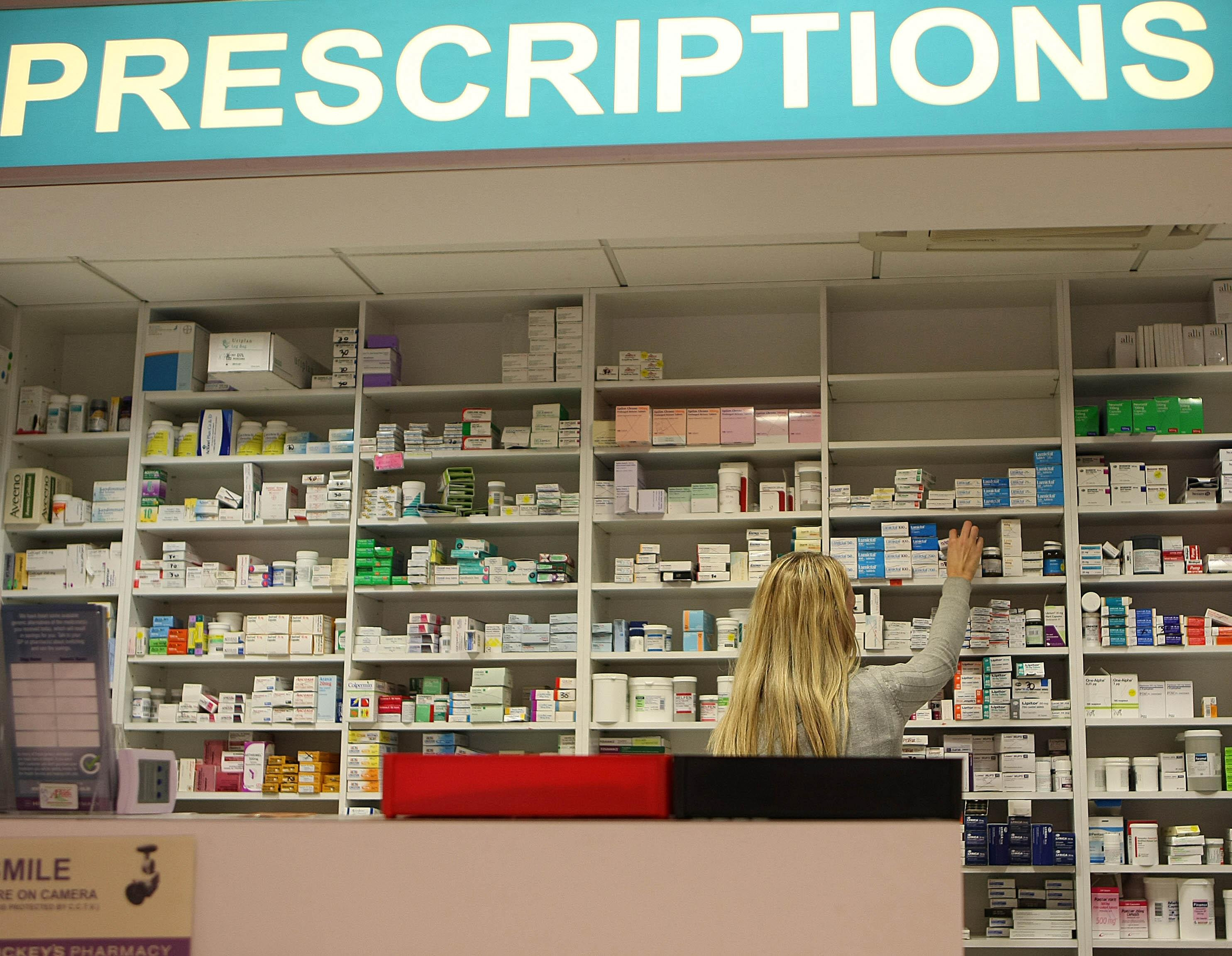 The changes will see prescriptions rise by 20p from £8.80 to £9. Credit: PA