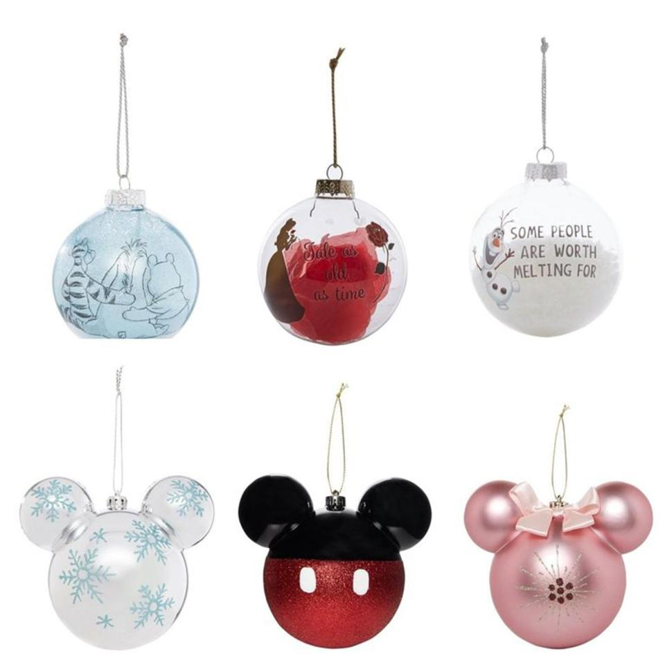 Primark Is Selling A Load Of Disney-Themed Baubles And