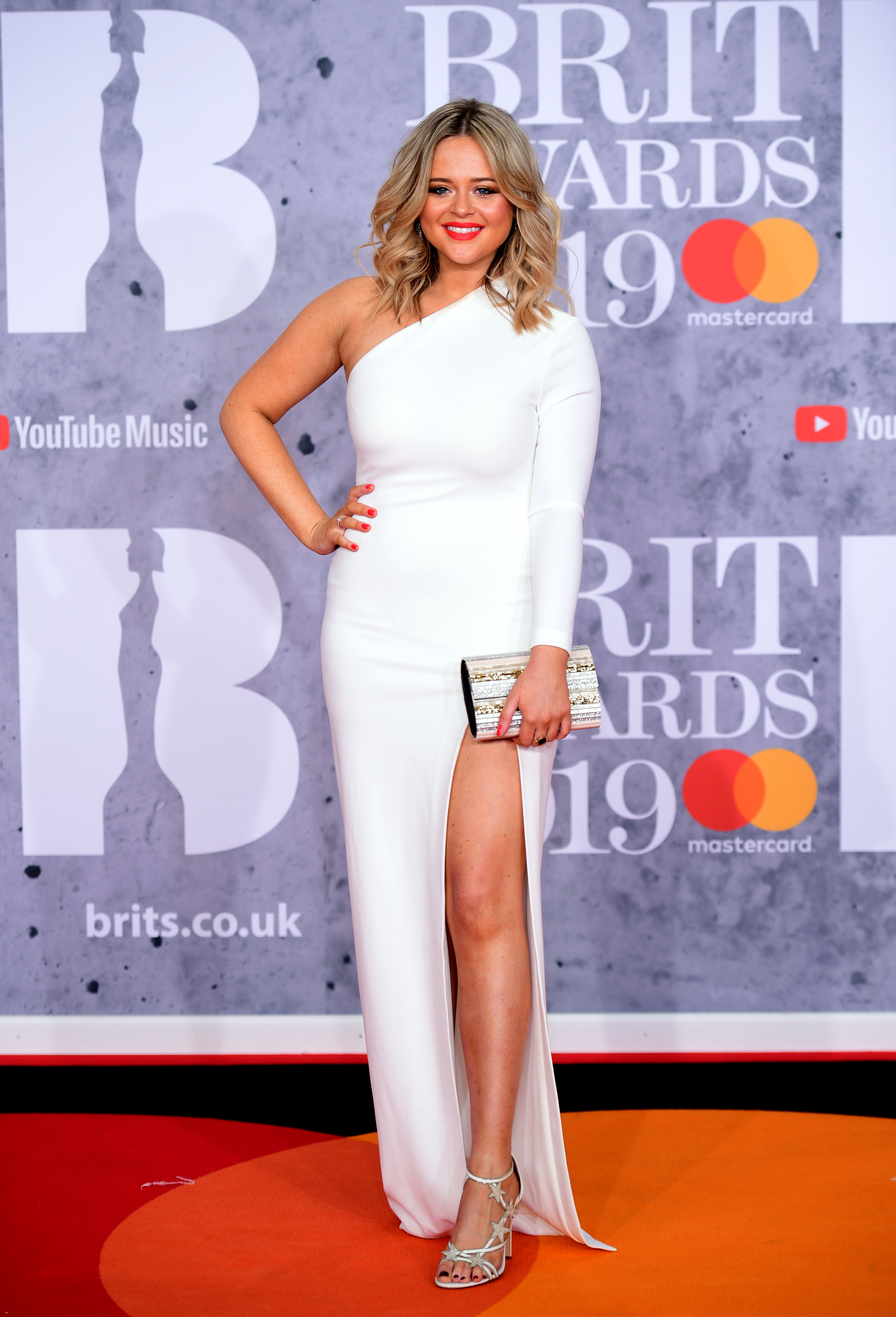 Emily Atack Hits Back At Vile Trolls Who Call Her Fat During BRITs Appearance