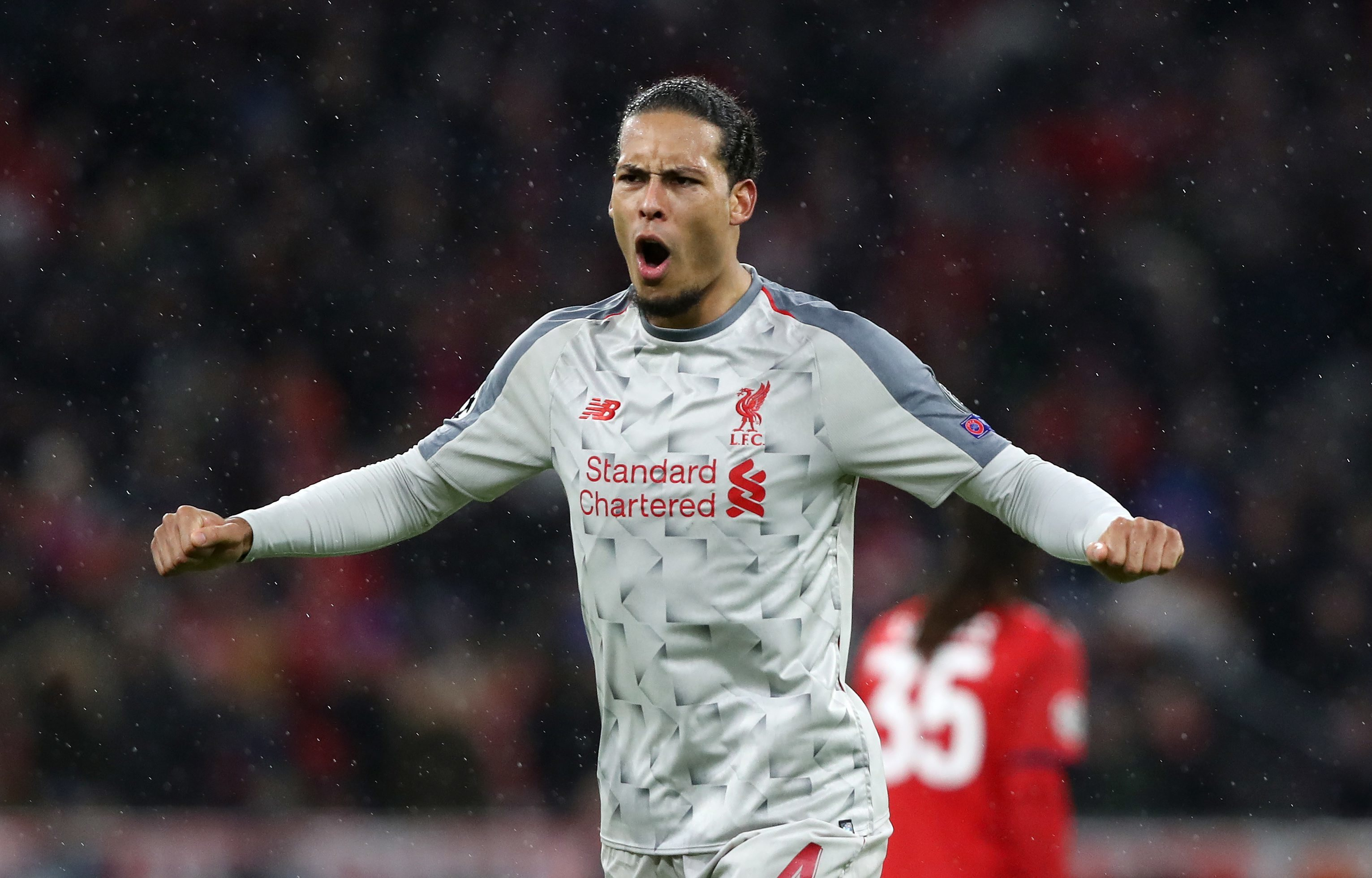 Van Dijk has been in imperious form this season. Image: PA Images
