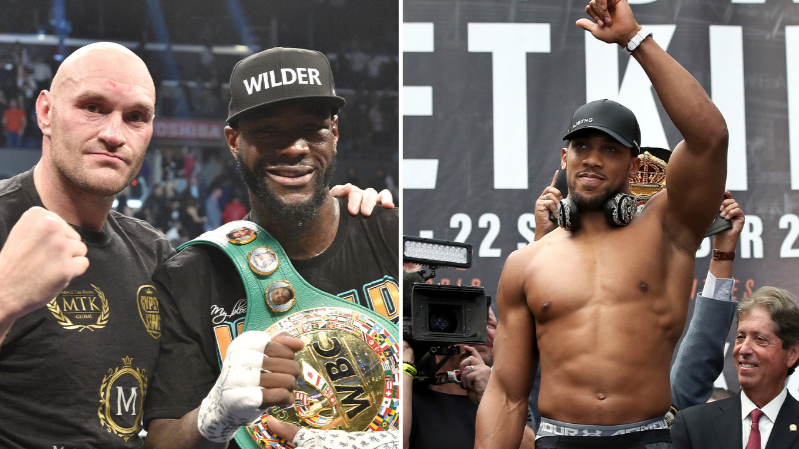 Anthony Joshua Bizarrely Likes A Post Calling Him Out After Tyson Fury Fight