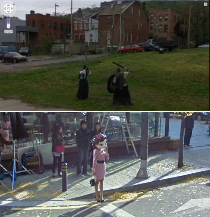 You May Wonder WTF is going on.. We do. Credit: Google Maps