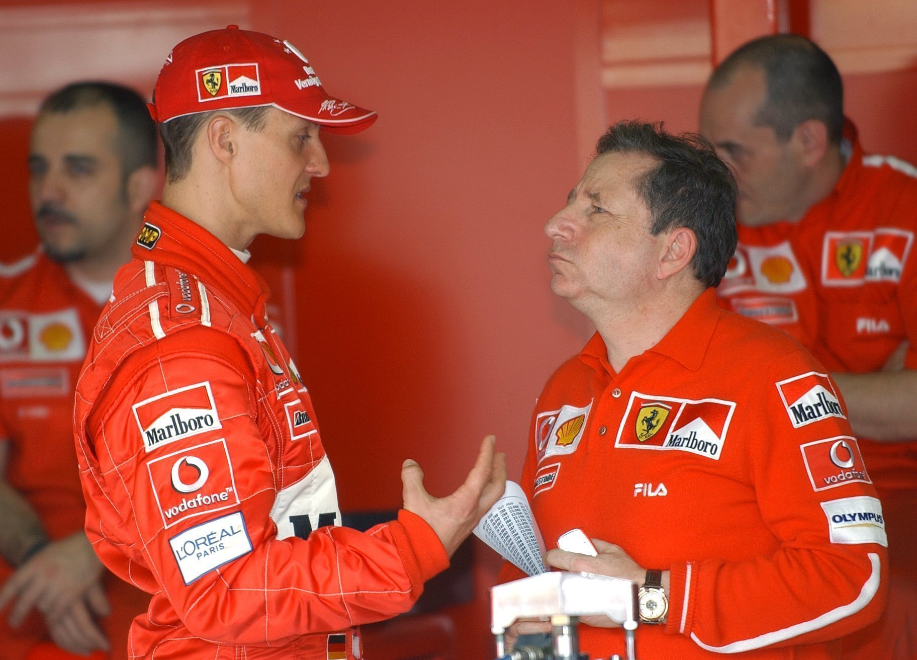 Schumacher has not been seen in public since a ski accident in 2013. Credit: PA