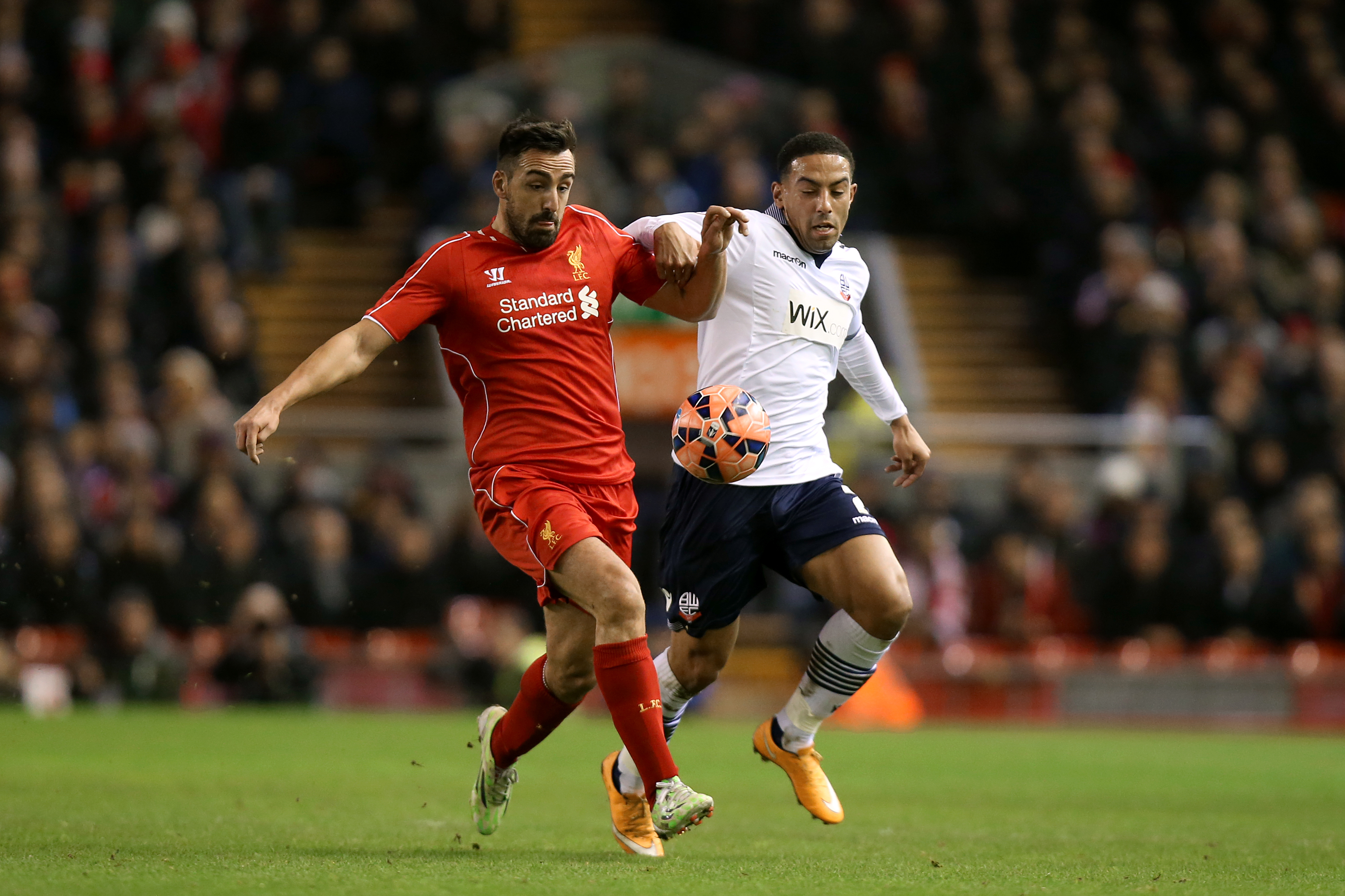 Enrique playing for Liverpool (Image Credit: PA)