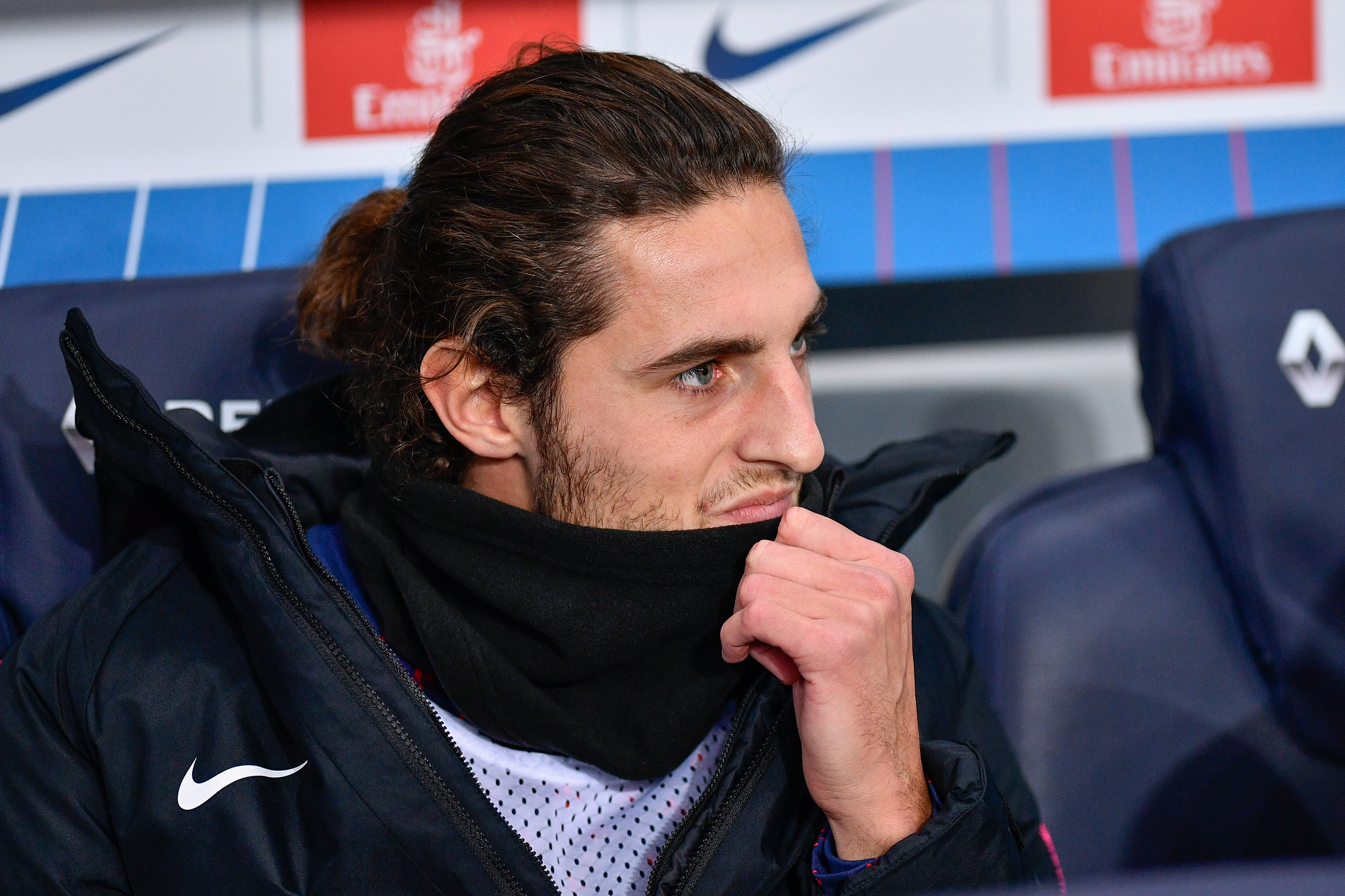 Rabiot has been sat watching the team play a lot this season. Image: PA Images