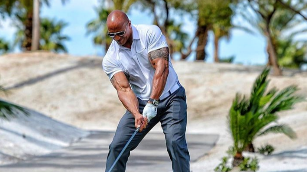 The Rock Came Close To Hitting The Longest Golf Drive Ever Recorded