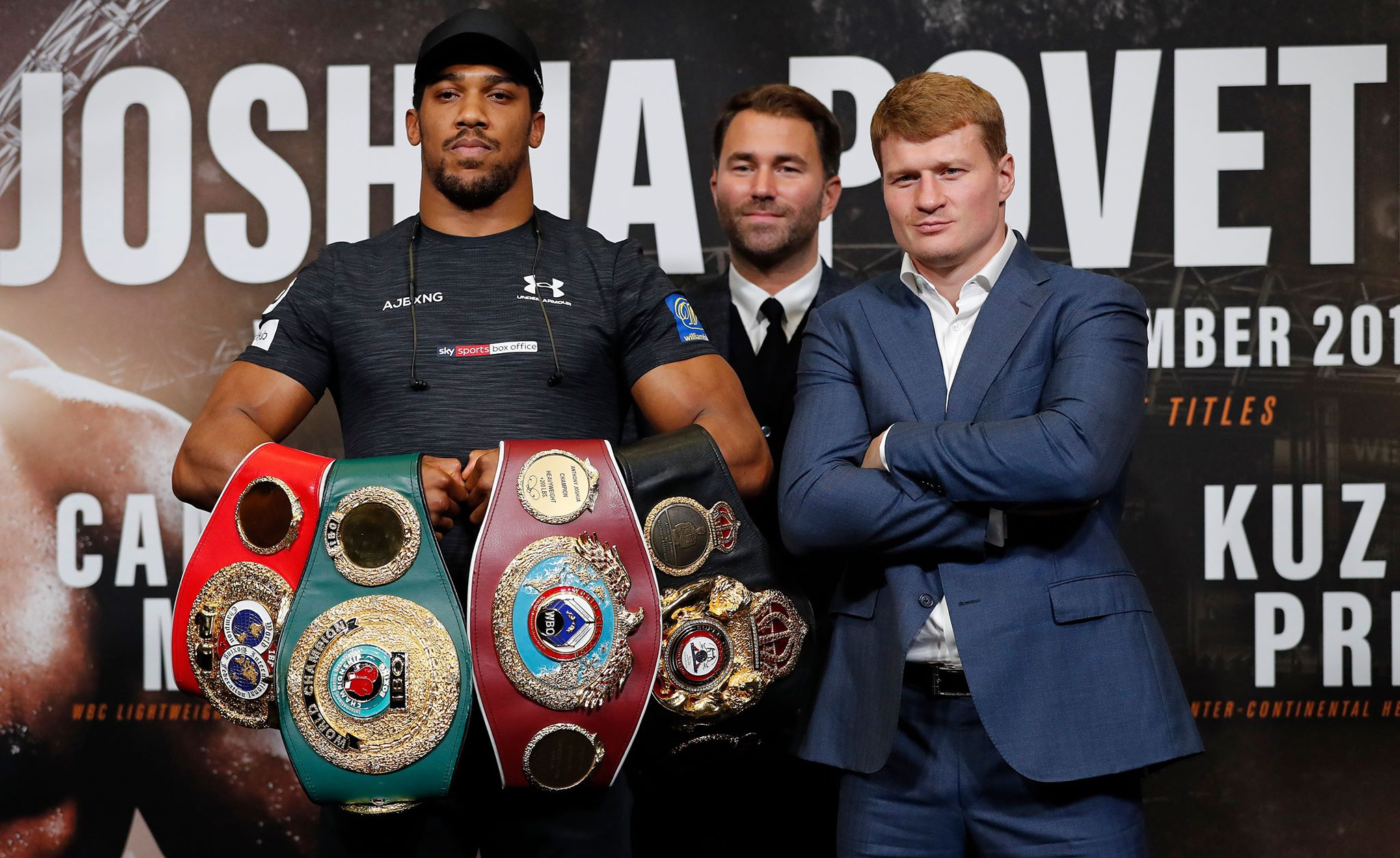 Anthony Joshua: Deontay Wilder in champion's crosshairs after Povetkin knockout win