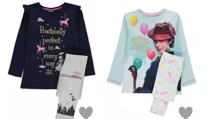 ASDA Has Launched A Range Of Mary Poppins Pjs For Adults And Kids