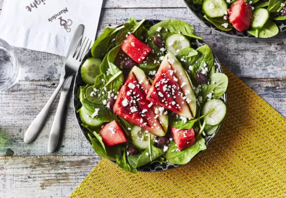 Nando's watermelon salad could be good on a summer's day. Credit: Nando's