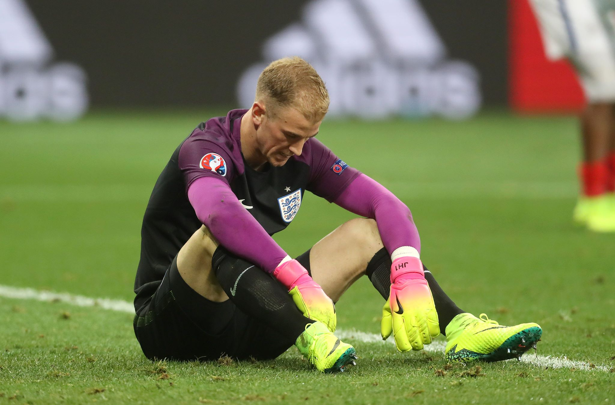Joe Hart missed England's World Cup quarter-final win to play cricket