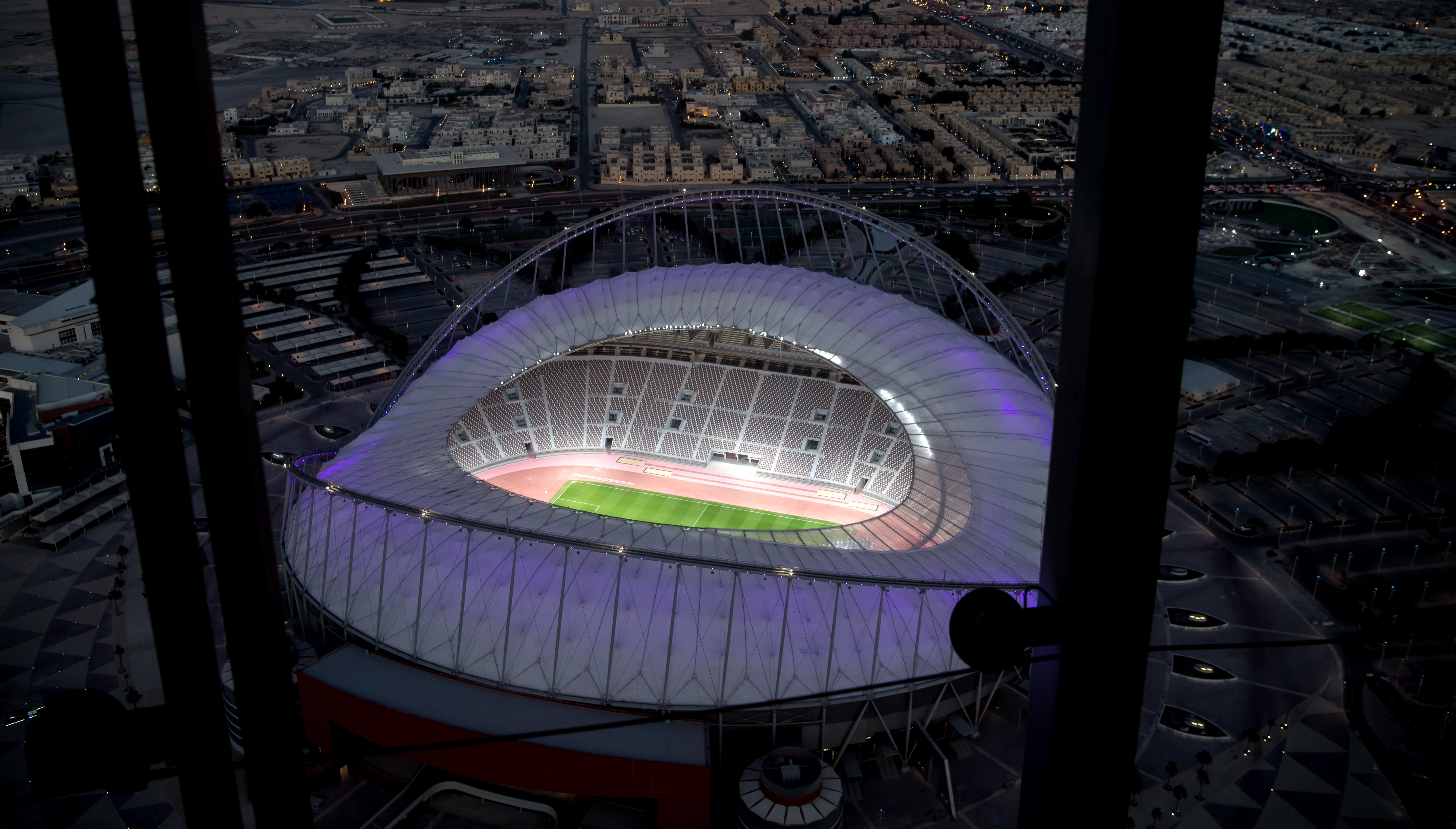 The Khalifa International Stadium in Doha will host the final in December 2022. Image: PA Images