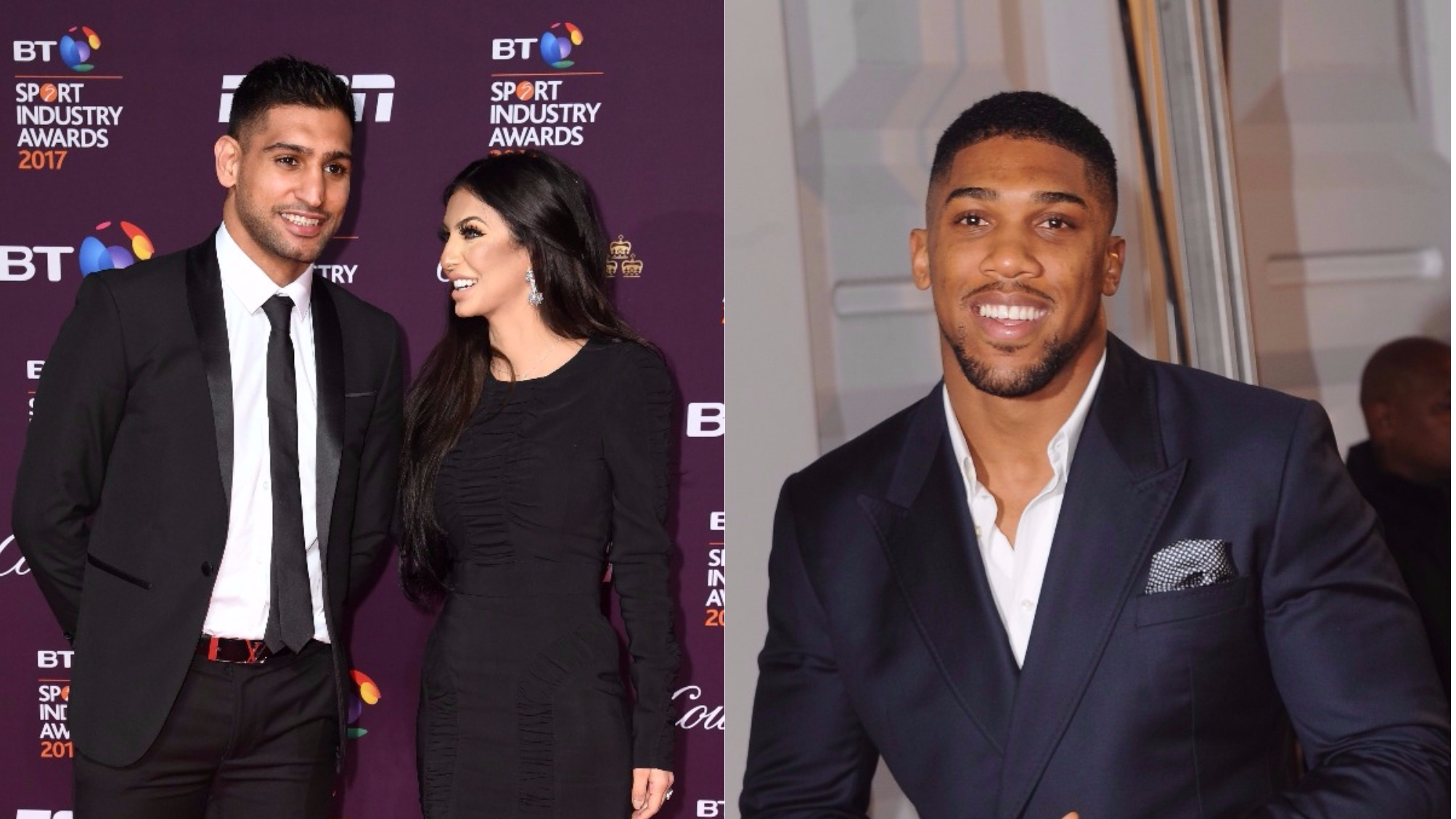 Anthony Joshua Has Responded To Amir Khan's Twitter Claims