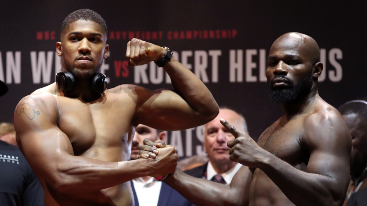 The Joshua Vs Takam Fight Will Be A Record Breaker