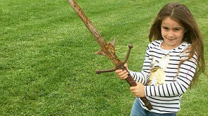 Schoolgirl Finds 'Excalibur' In The Same Lake Where Arthur's Sword Was Thrown