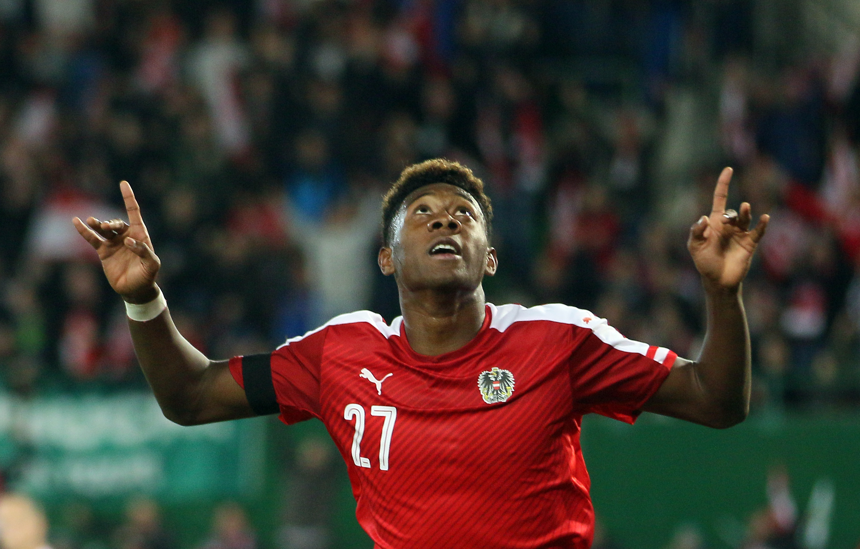 David Alaba Reveals The Premier League Club He Supported As A Kid