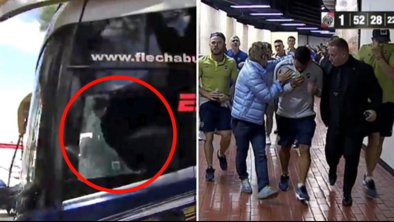 Boca Juniors Bus Attacked By River Plate Fans Ahead Of Copa Libertadores Final