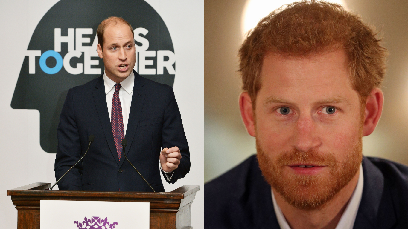 ​Prince Harry, Prince William And Other Stars Come Together For First Mental Health Minute