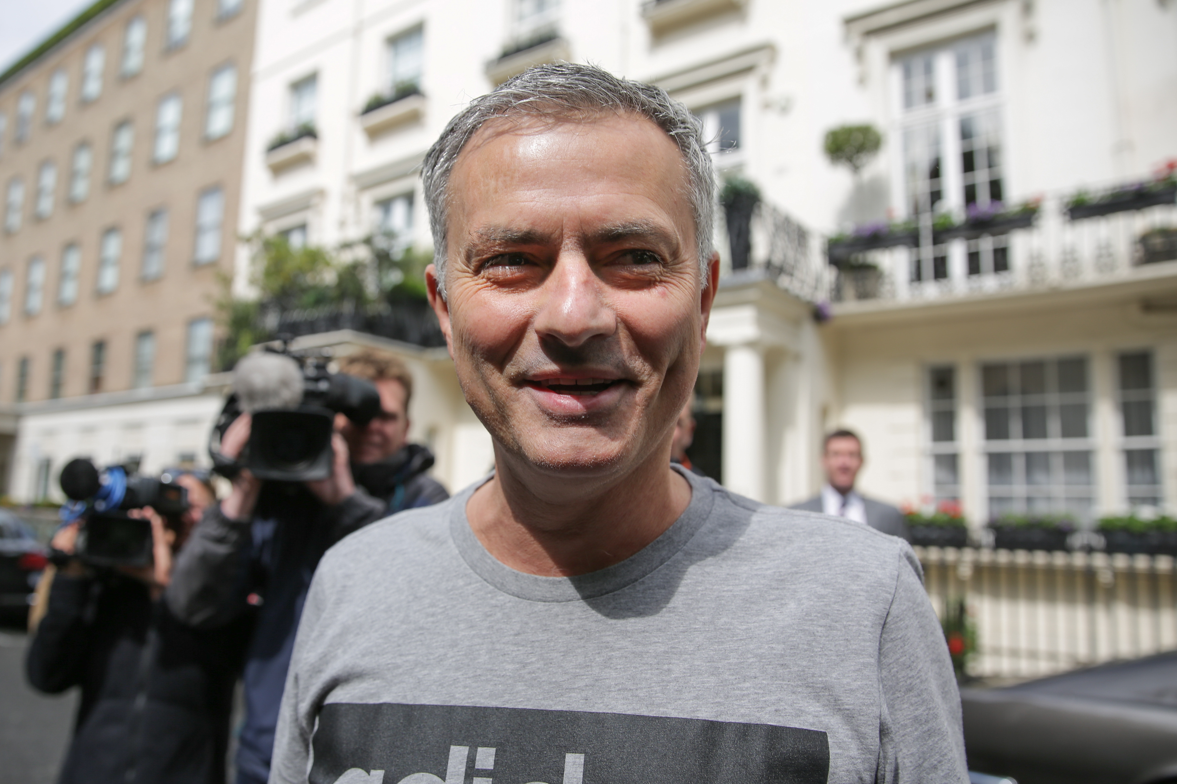 Mourinho will be happy to know he's the second best ever United manager. Image: PA Images