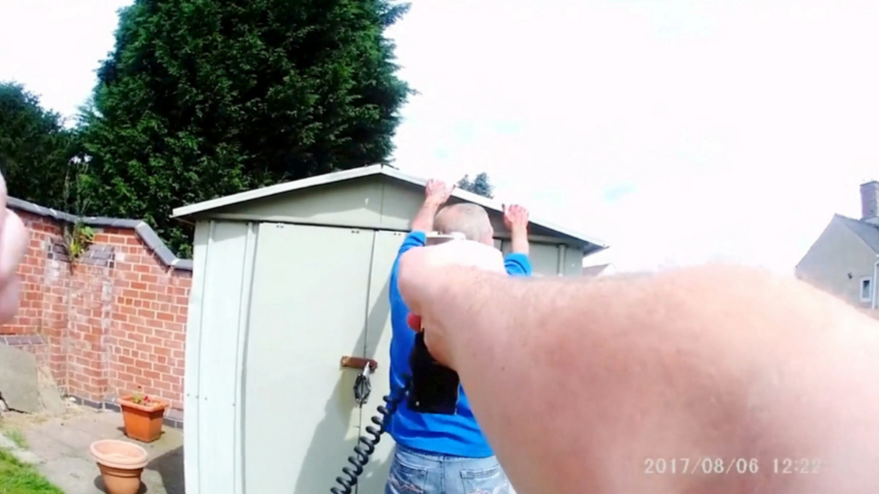 Dramatic Body Cam Footage Shows Blood-Soaked Murderer Being Captured By Cops