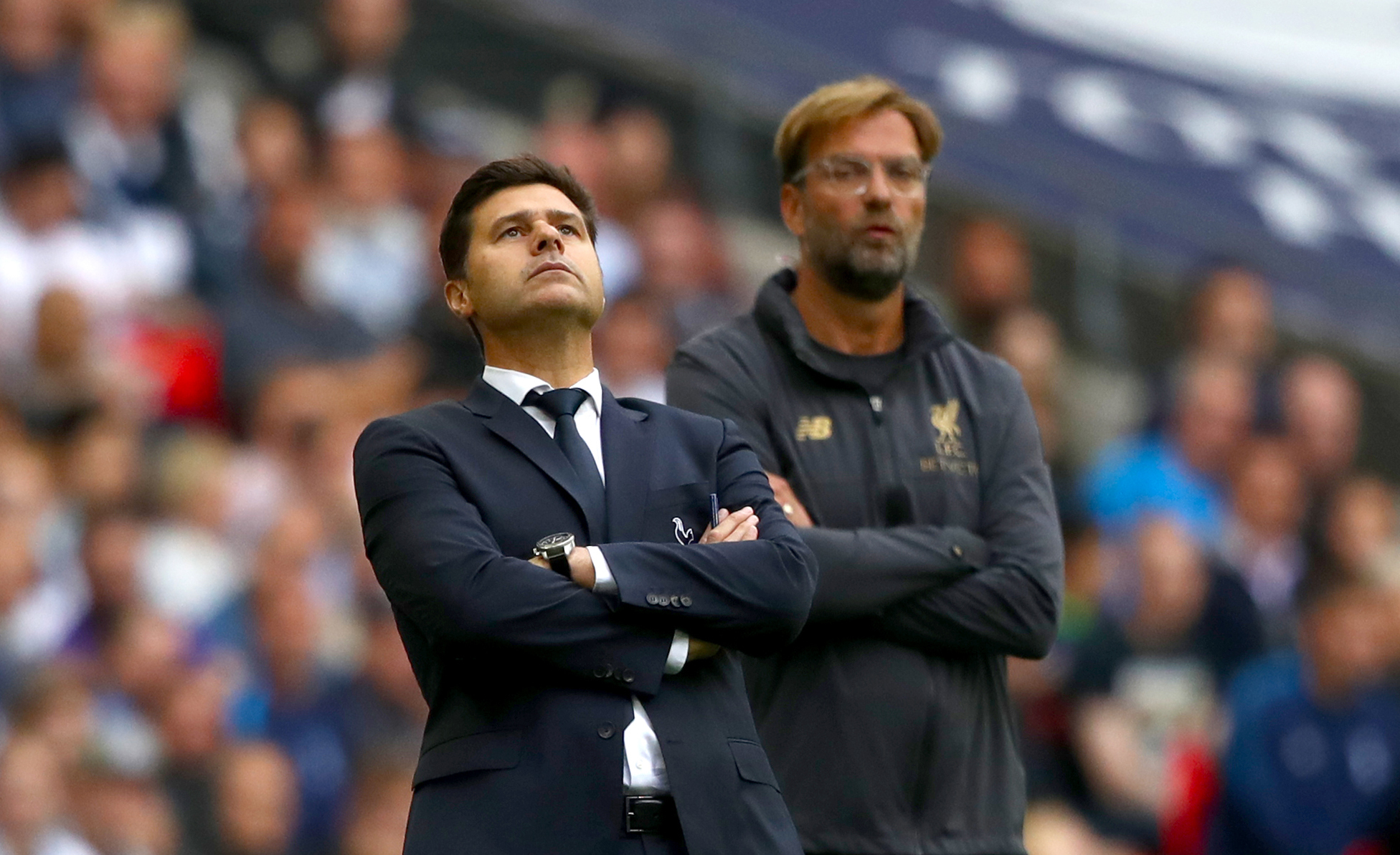 Klopp and Pochettino meet on June 1st. Image: PA Images