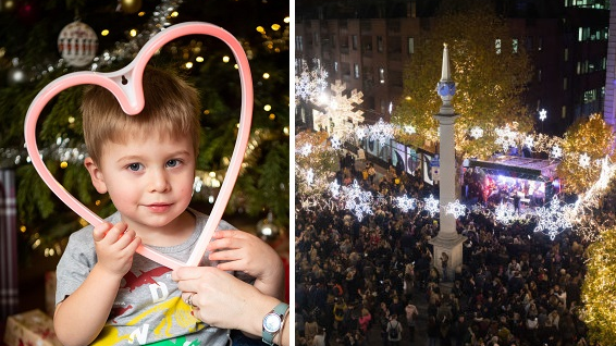 Two-Year-Old With Heart Condition Controls Christmas Lights With His Heartbeat