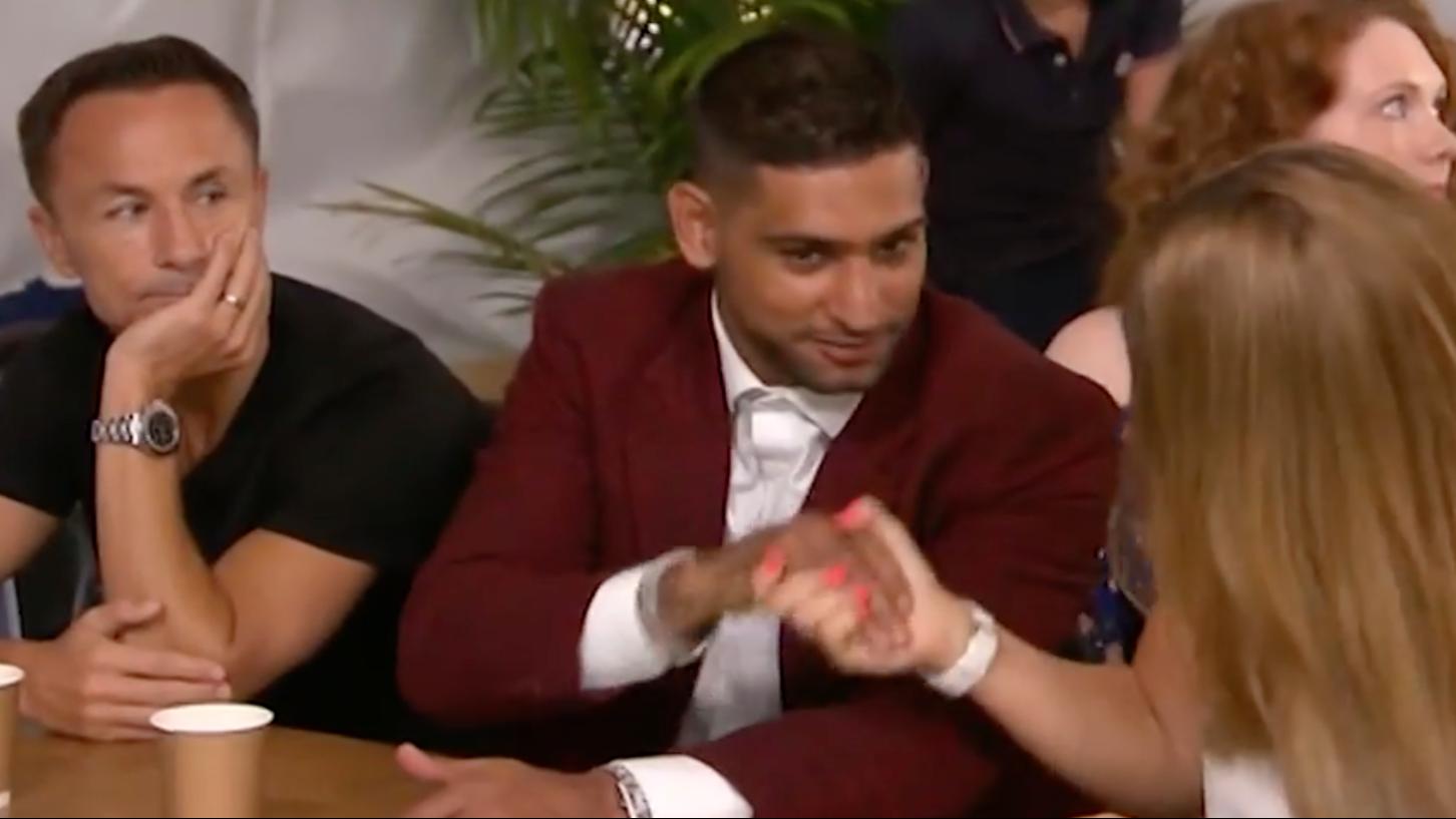 'I'm A Celeb' Fans Slam Amir Khan, Dennis Wise and Rebekah Vardy For 'Celebrating Iain's Loss'