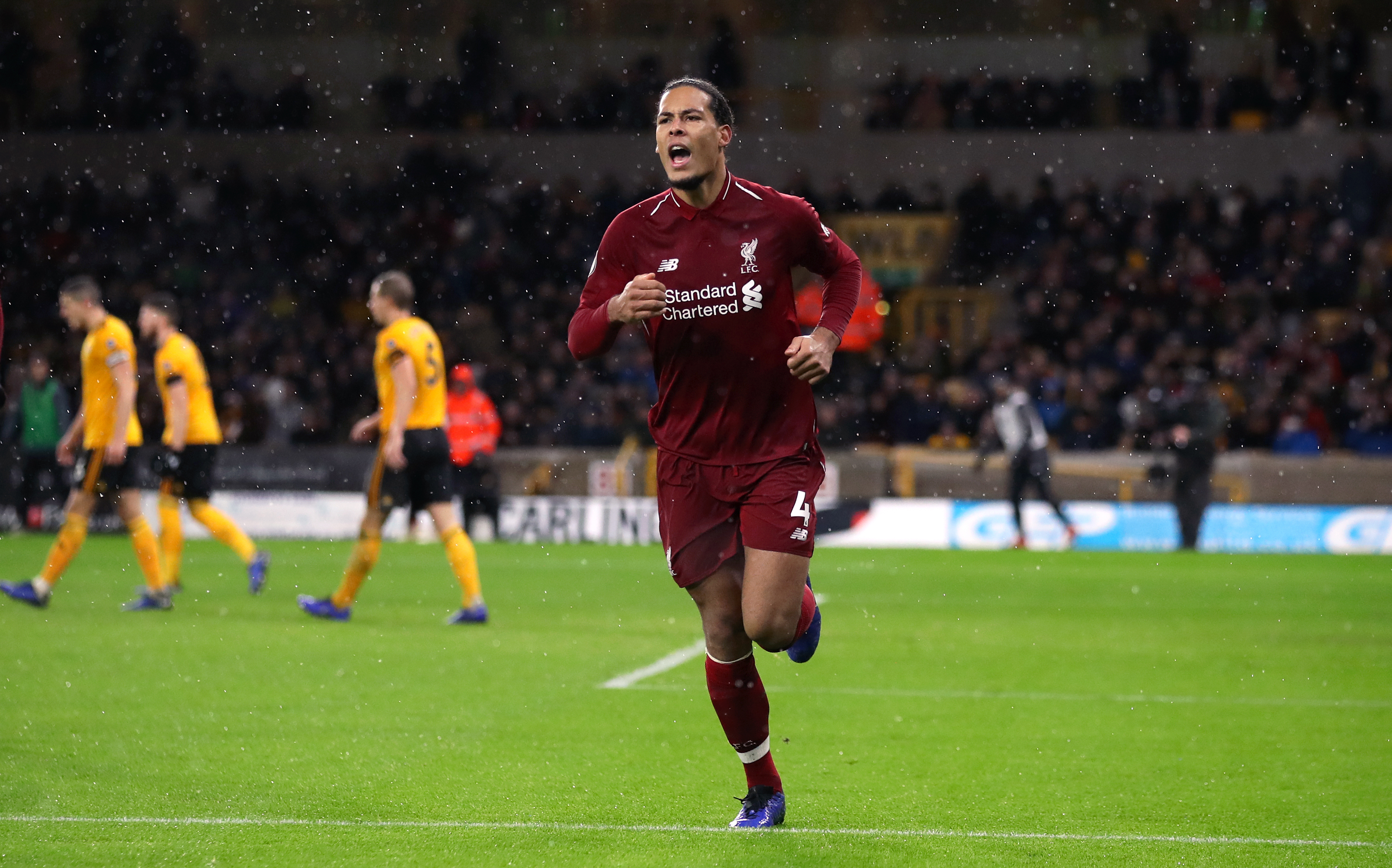 Van Dijk has been a tour de force since joining the Reds. Image: PA Images