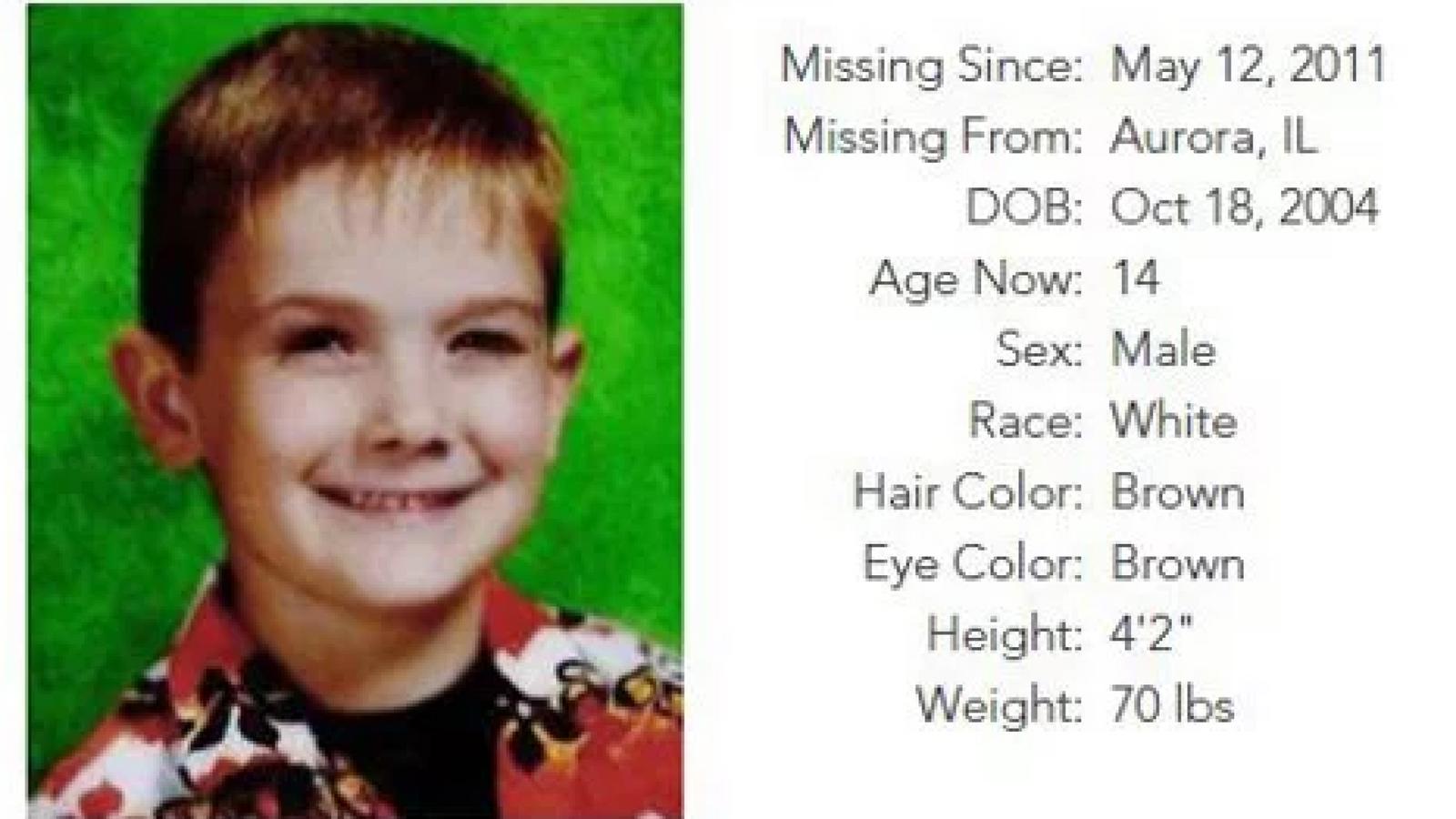 Timmothy Pitzen vanished in 2011. Credit: Missing Timmothy Pitzen