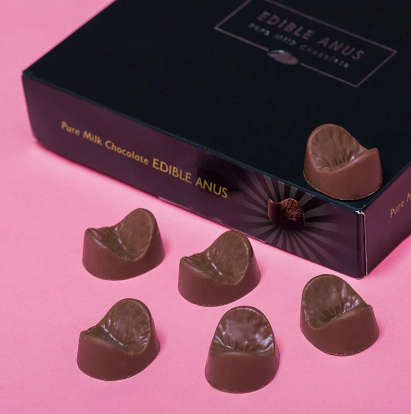The chocolate anuses cost just £6.99. Credit: PrezzyBox