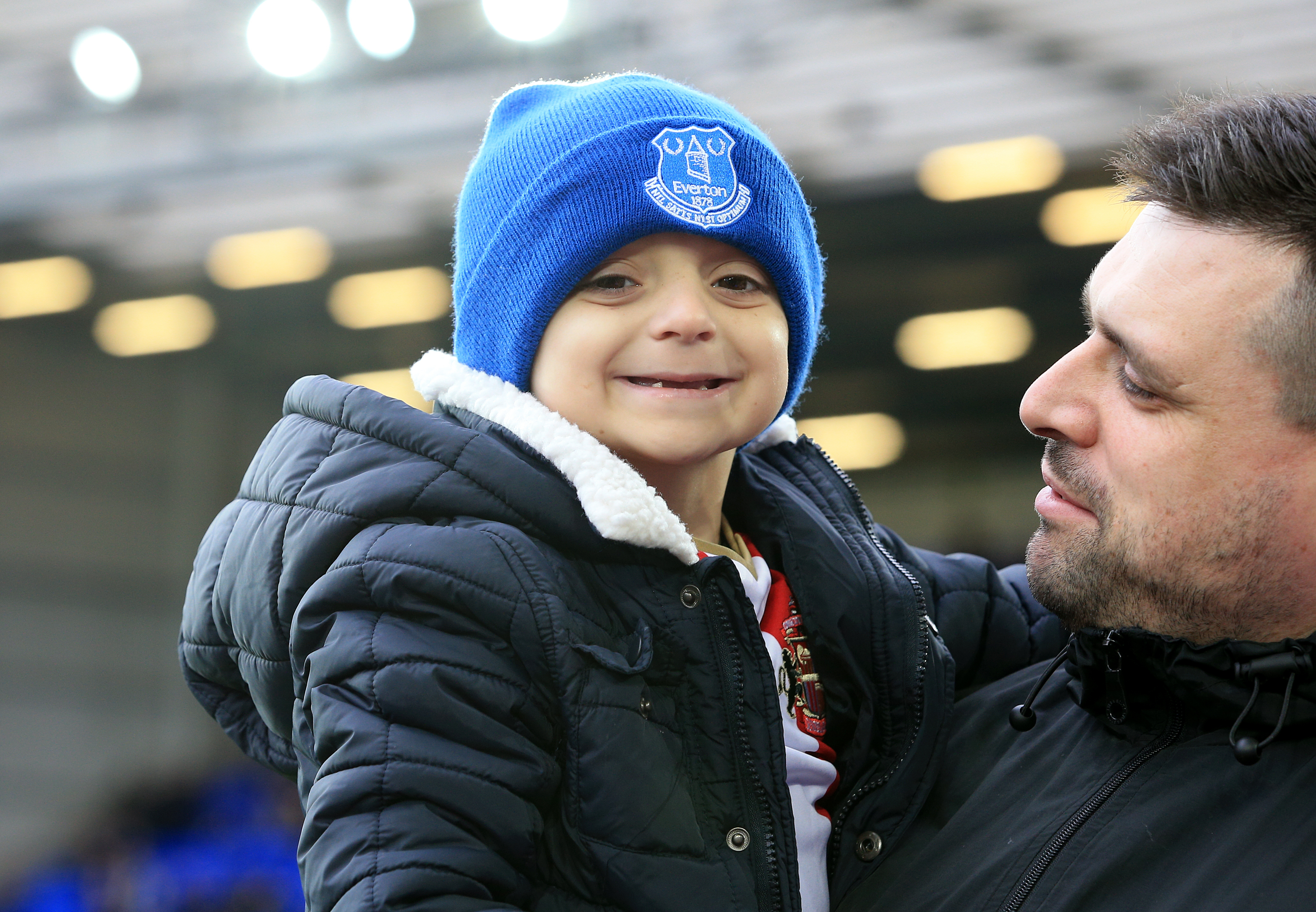 Bradley Lowery continues to inspire others. Credit: PA Images