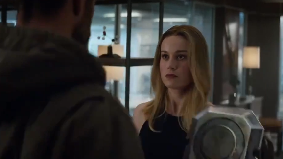 New Avengers: Endgame Trailer Confirms Captain Marvel Is Returning. Credit: Marvel