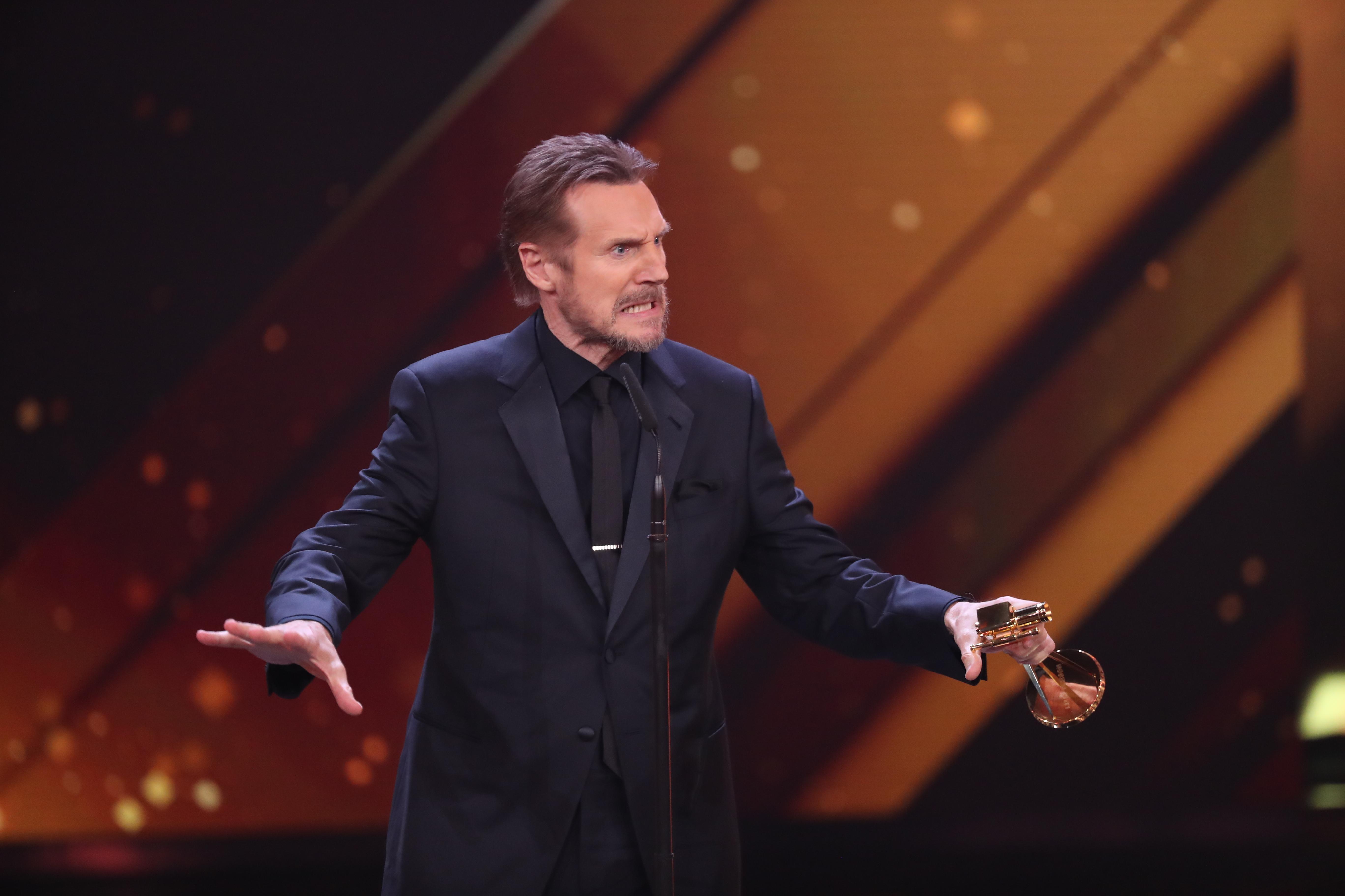 'Accidental' action hero Liam Neeson. Credit: PA
