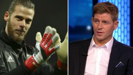 Steven Gerrard Expertly Sums Up De Gea From A Rivals Perspective