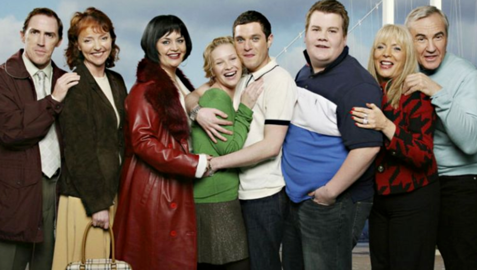 James Corden says the Gavin & Stacey Christmas special will be a 'nostalgic joy-bomb'. Credit: BBC/Baby Cow Productions