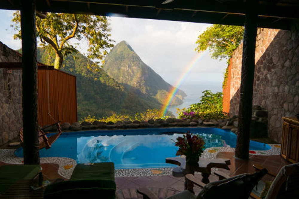 St Lucia could be a great shout if you can fork out for the flight. Credit: PA