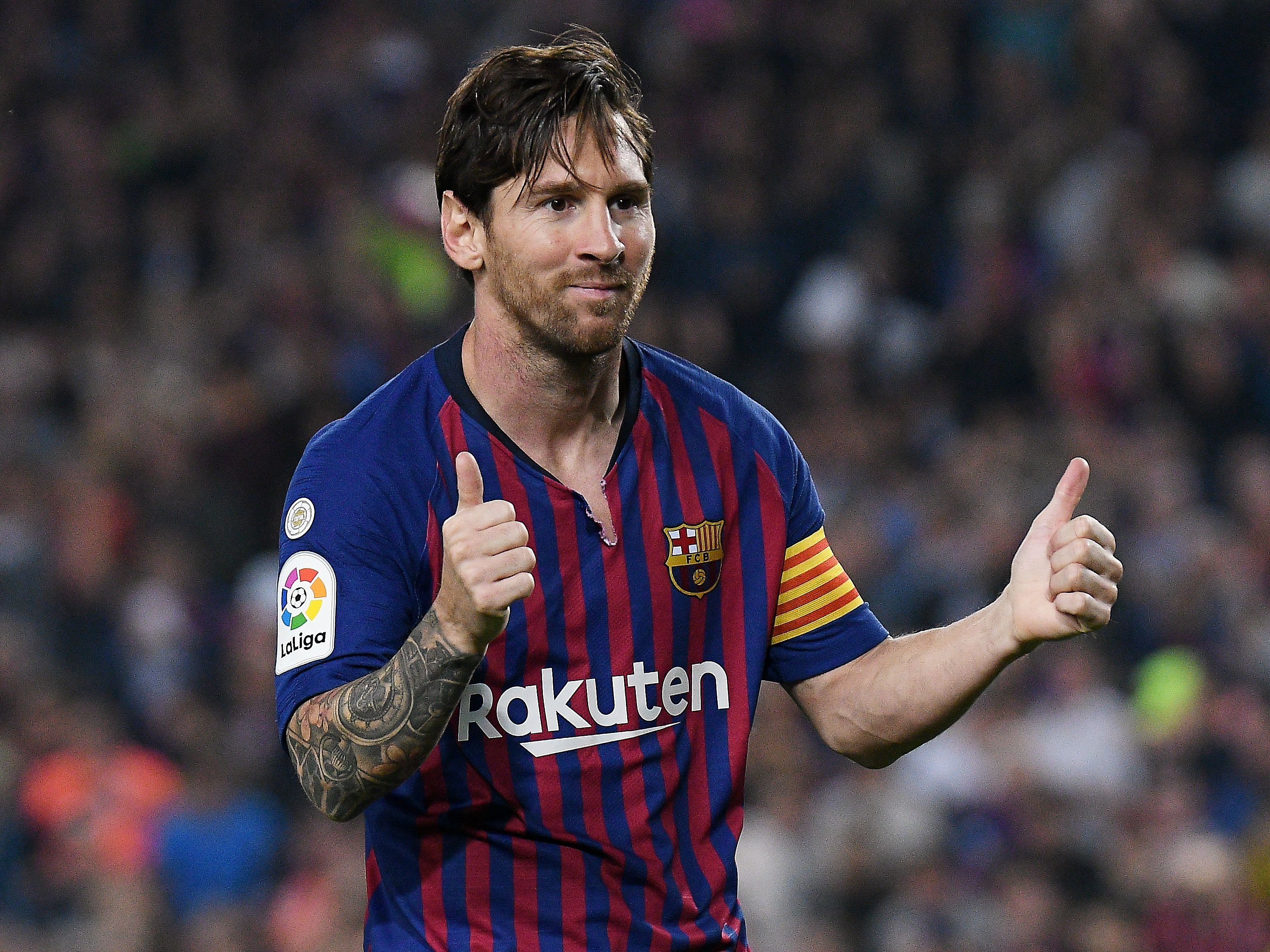 Barcelona include Messi in squad to face Inter Milan