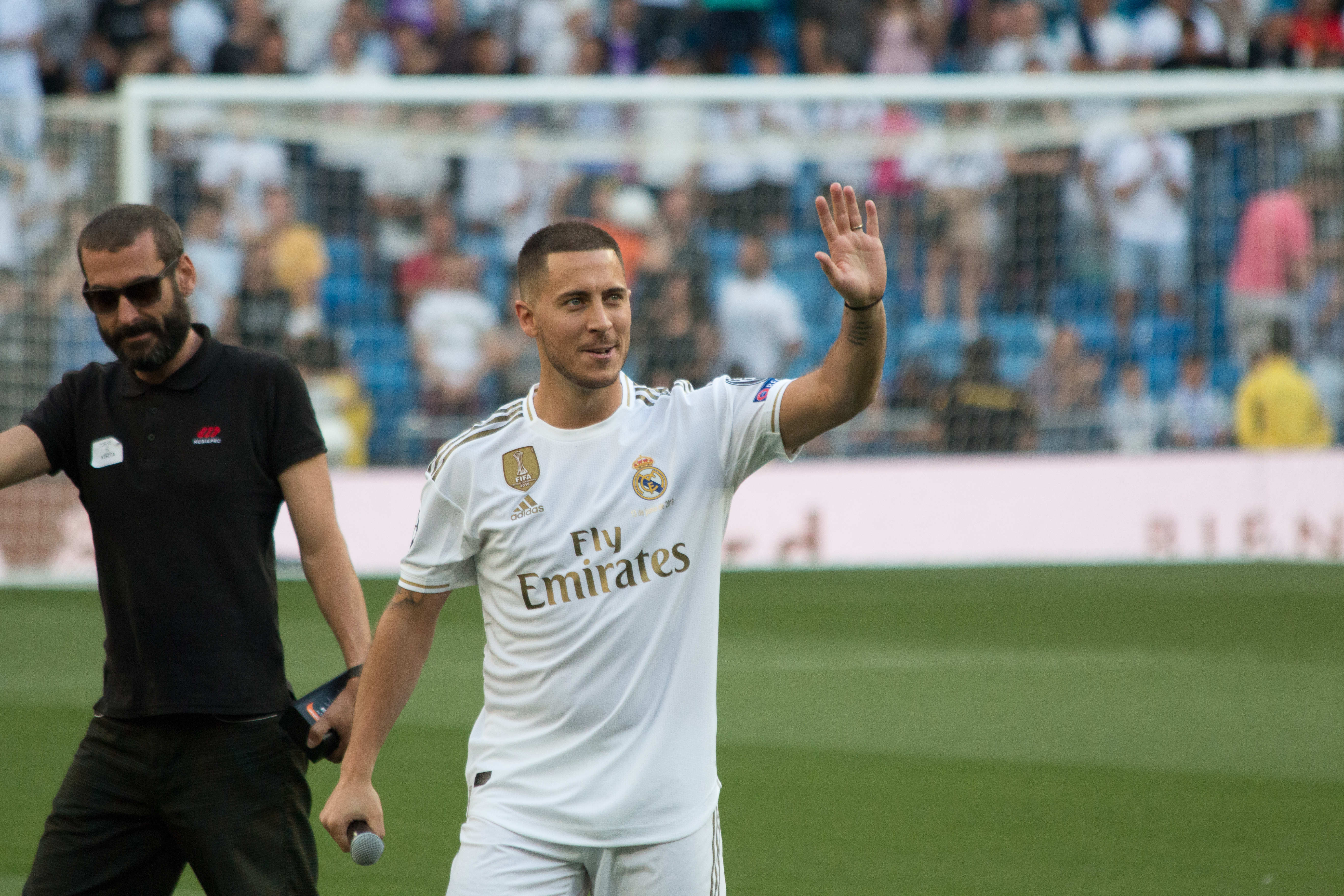 Eden Hazard hopes to emulate basketball greats with the number 23