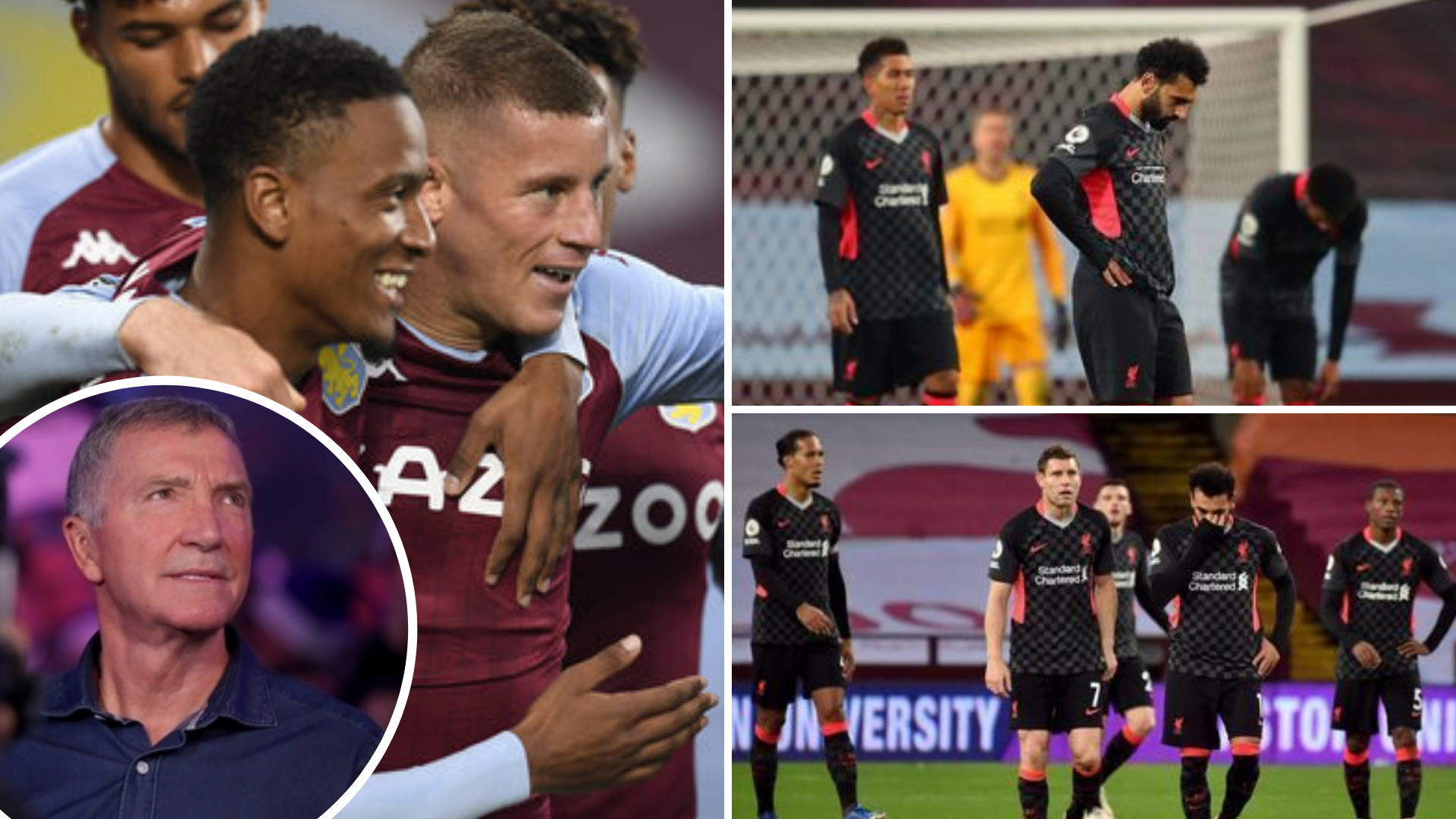 Graeme Souness Blasts Three Liverpool Players For Embarrassing Performances In 7 2 Defeat To Aston Villa Sportbible