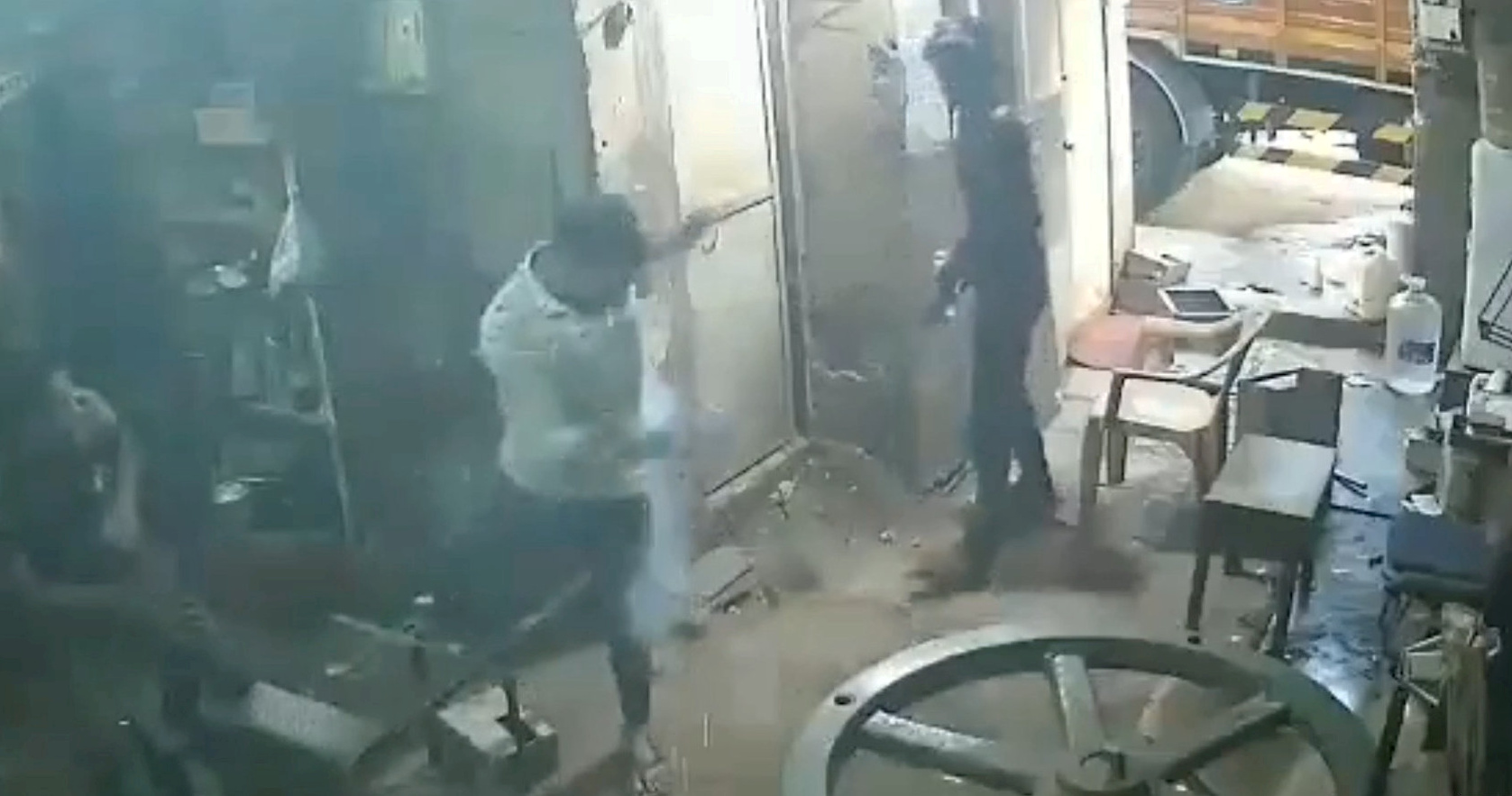 Man's smartphone explodes in pocket. Credit: SWNS