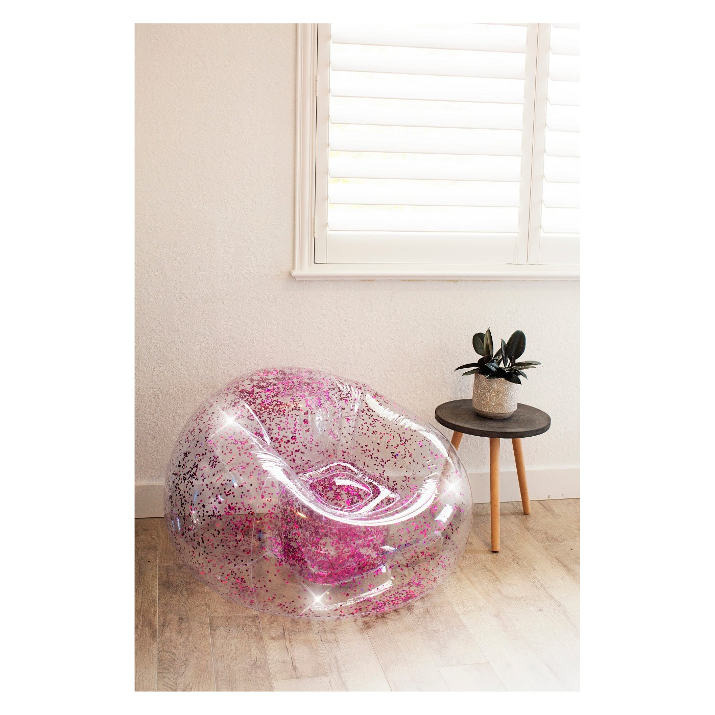 90s Babies These Glittery Inflatable Chairs Are Making A