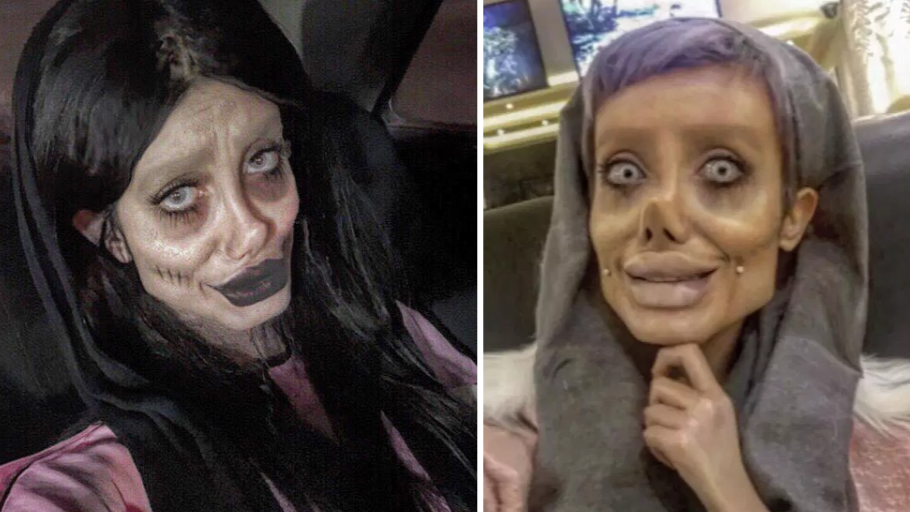 Sahar Tab Instagram >> Angelina Jolie's 'Lookalike' Reveals What She Looks Like Without Make-up - Pretty 52
