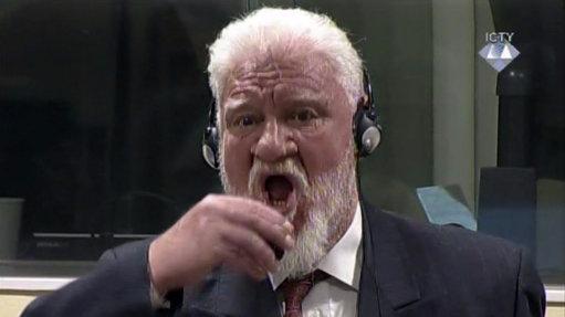 Bosnian Croat War Criminal Slobodan Praljak Dies After Drinking Poison In UN Court