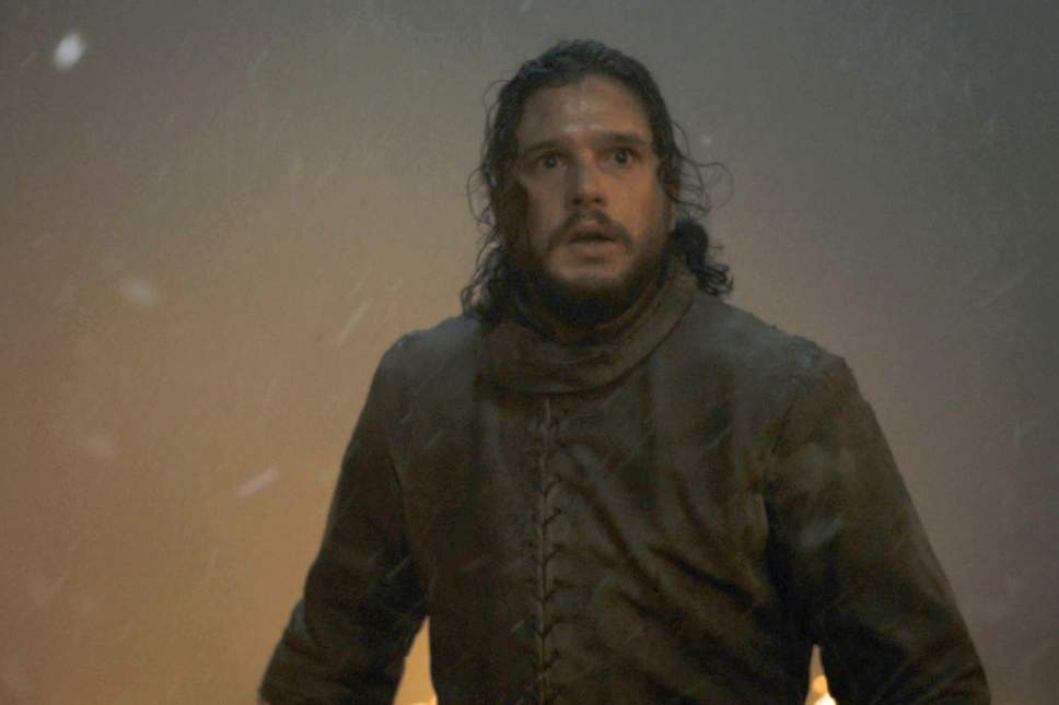 He always looks as if he's going to be incinerated at any minute. Credit: HBO